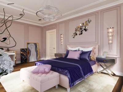 Неоклассика спальня