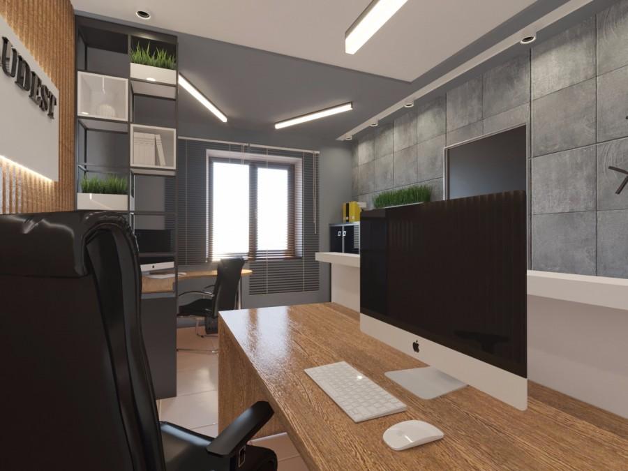 Офисное помещение.