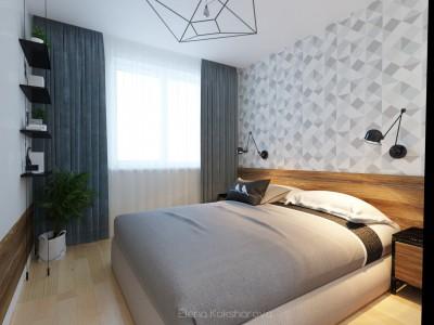 Спальня с оттенком  Loft