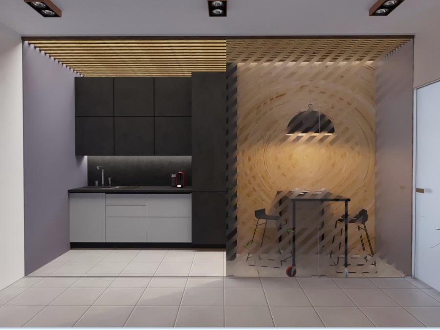 Офис общая кухня.