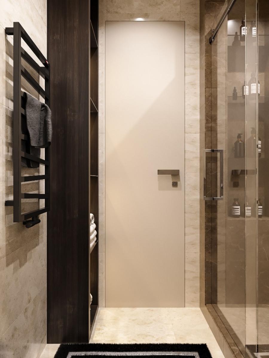 Ванная комната . Дизайн интерьера Челябинск.