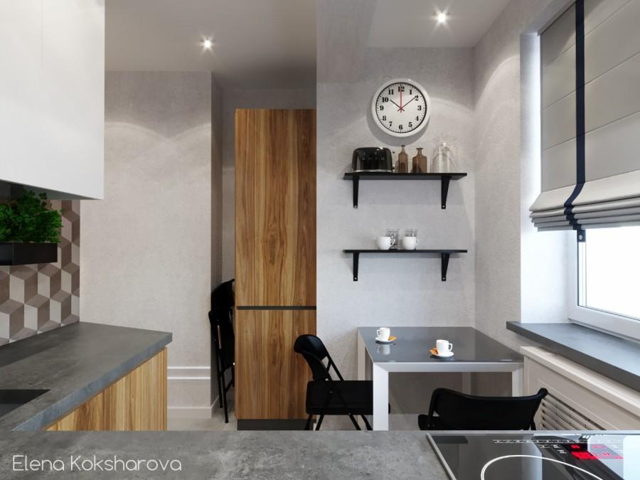 Loft в небольшой квартире