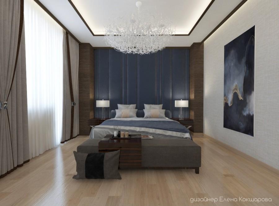 Спальня на все времена. Стиль современный.