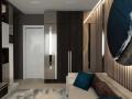 Кабинет или гостевая в квартире.