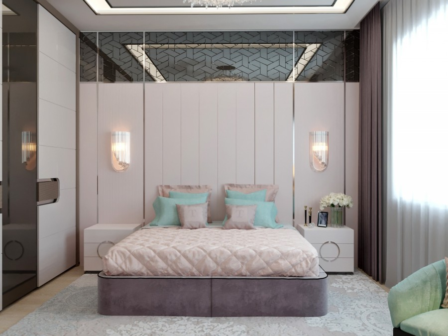 Спальня современный стиль. Копейск