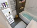 Ванная в белом мраморе.