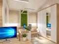 Офис в эко стиле